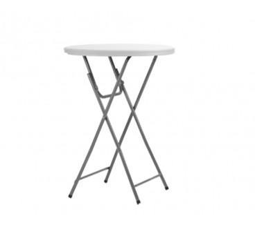 Table Haute Ronde table haute cocktail ronde 81cm - france chapiteaux