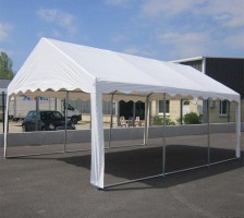 Tente de réception blanche 4m x 6k 40mm